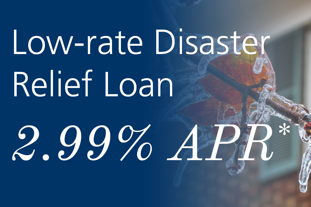 low rate disaster relief loan