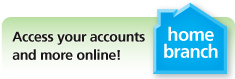 Tinker Federal Credit Union serving members in Oklahoma, and areas surrounding Tinker Air Force Base, Oklahoma City, Ada, Bethany, Edmond, Enid, Midwest City, Norman, Shawnee, Stillwater, Tulsa and Yukon can access Home Branch online banking by clicking this button.
