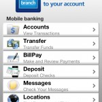 Home Branch Mobile Screen Log In