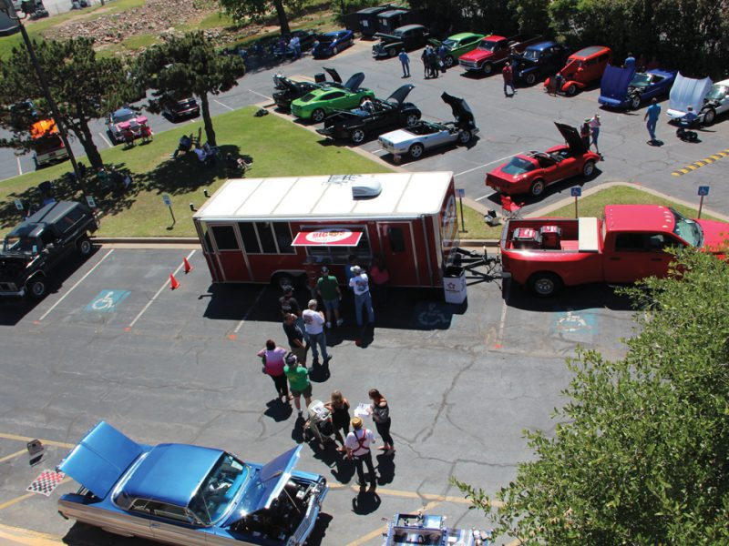 Custom and vintage vehicles at TFCU's 2017 Miracle Car Show