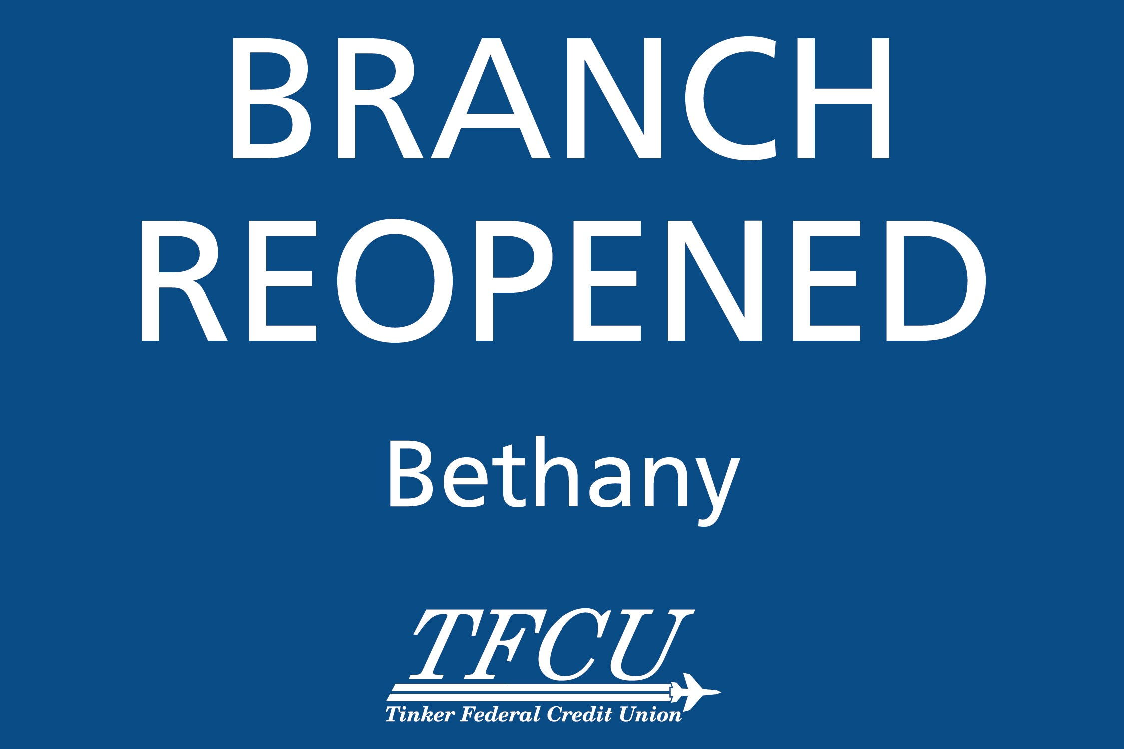 Bethany Branch Reopened