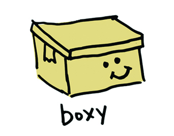 Boxy the Storage Box