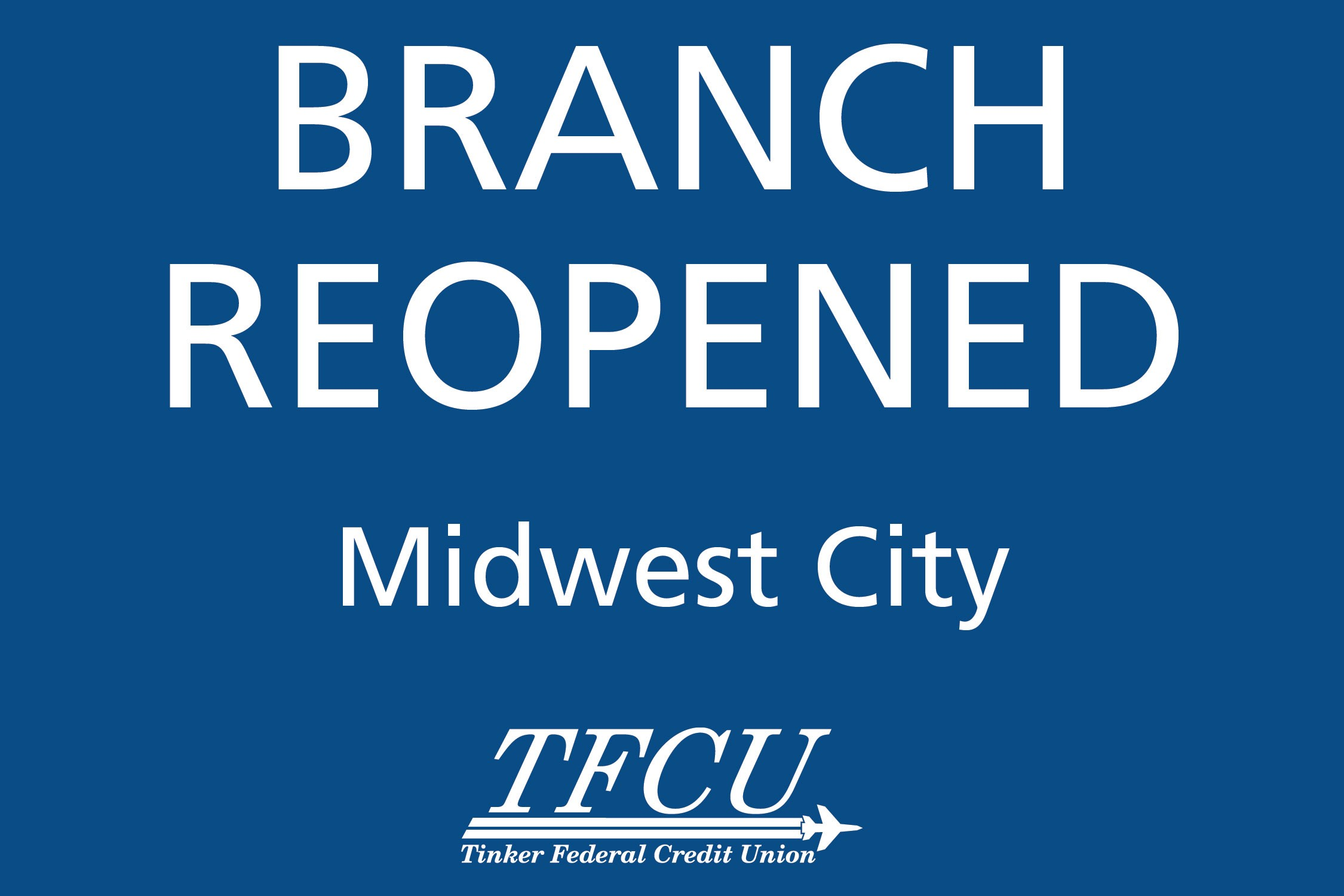 MWC Branch Reopen