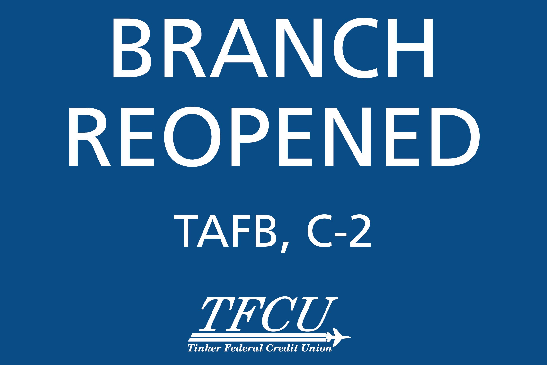 C2 Branch Reopened