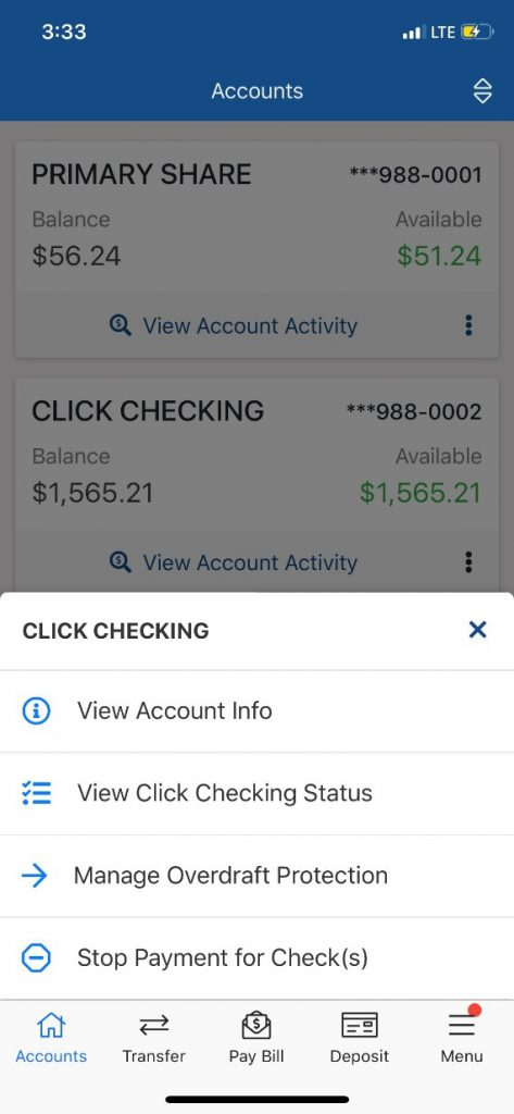 Click Checking Module 1