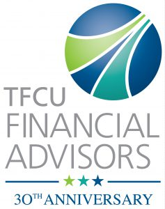 TFCU Financial Advisors 3oth Anniversary Logo
