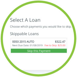Home Branch 2019 detail of Skippable Loans