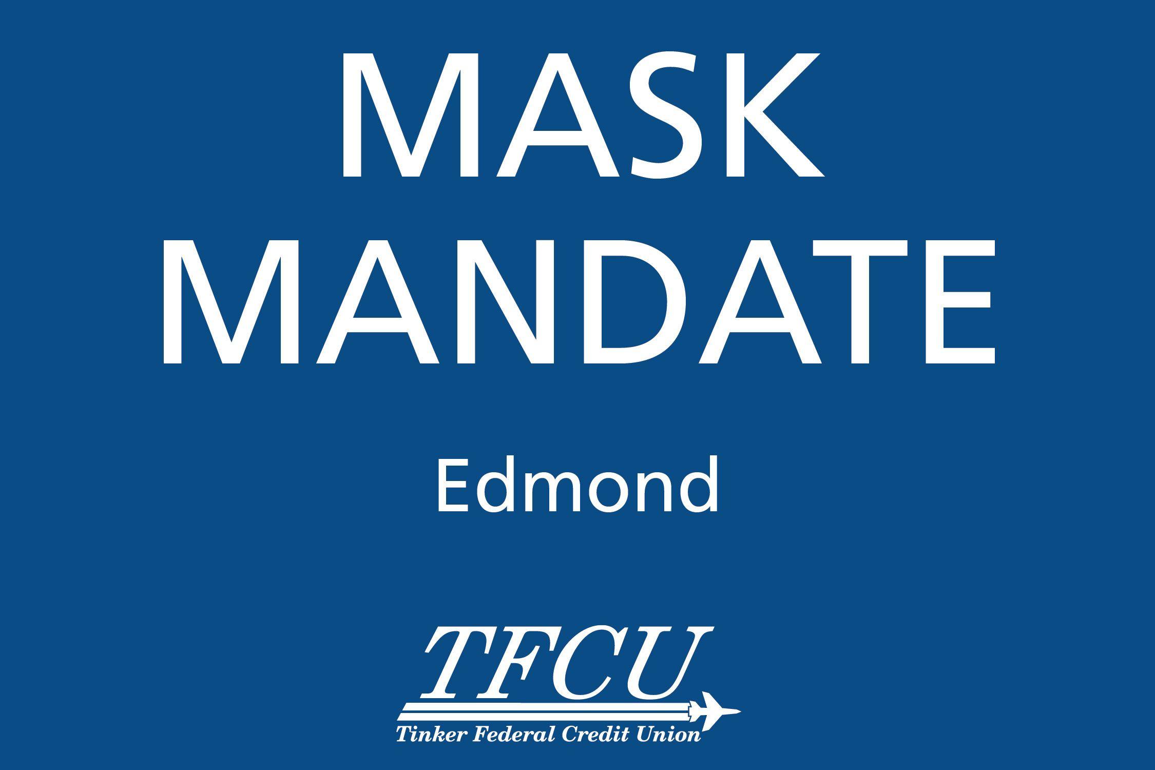 Edmond Mask Mandate