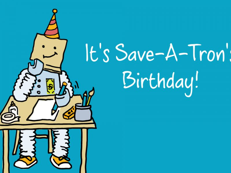saveatron birthday