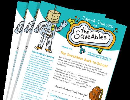 SaveAbles Newsletter Stack