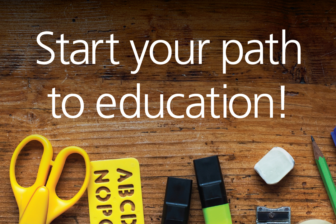 Start your path to education! Learn more about the Scholarship Contest.