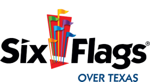 Six Flags Over Texas Arlington amusement park Logo