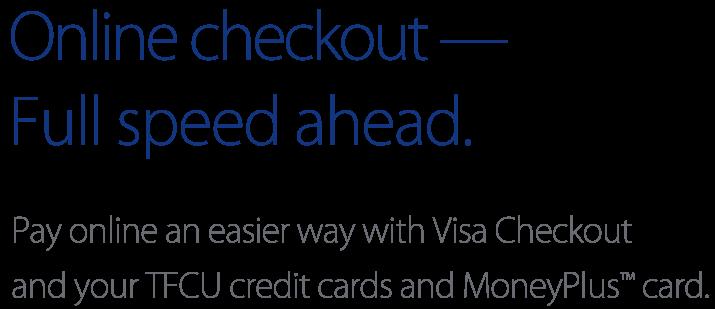 TFU Visa Checkout Carousel Text