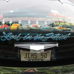 Custom paint at the 2019 TFCU Miracle Car Show