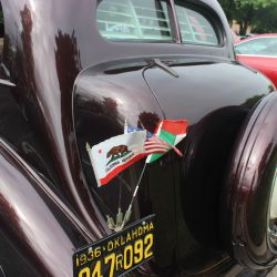Classic interior detail at the 2019 TFCU Miracle Car Show