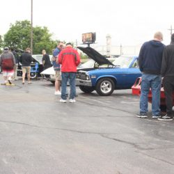 Spectators checking out the 2019 TFCU Miracle Car Show