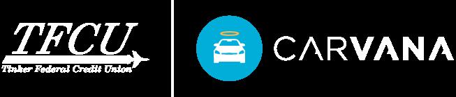 TFCU logo and Carvana Logo