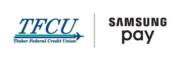 TFCU and Samsung Pay Logos